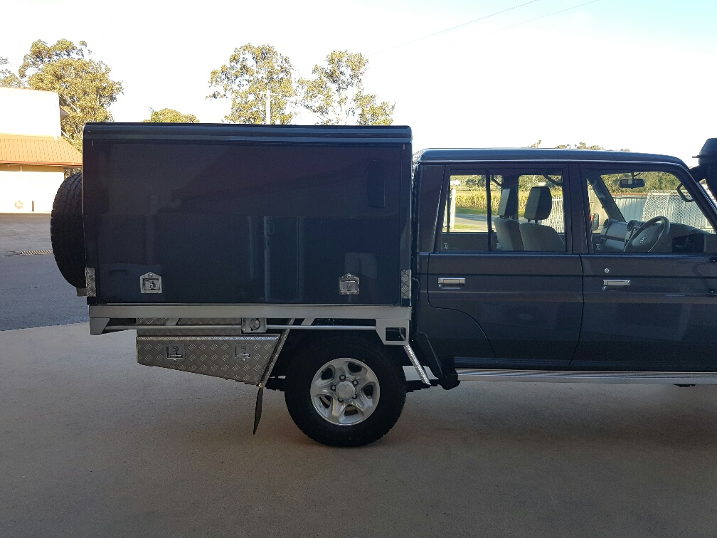Dynamic Dual Cab Campers 7