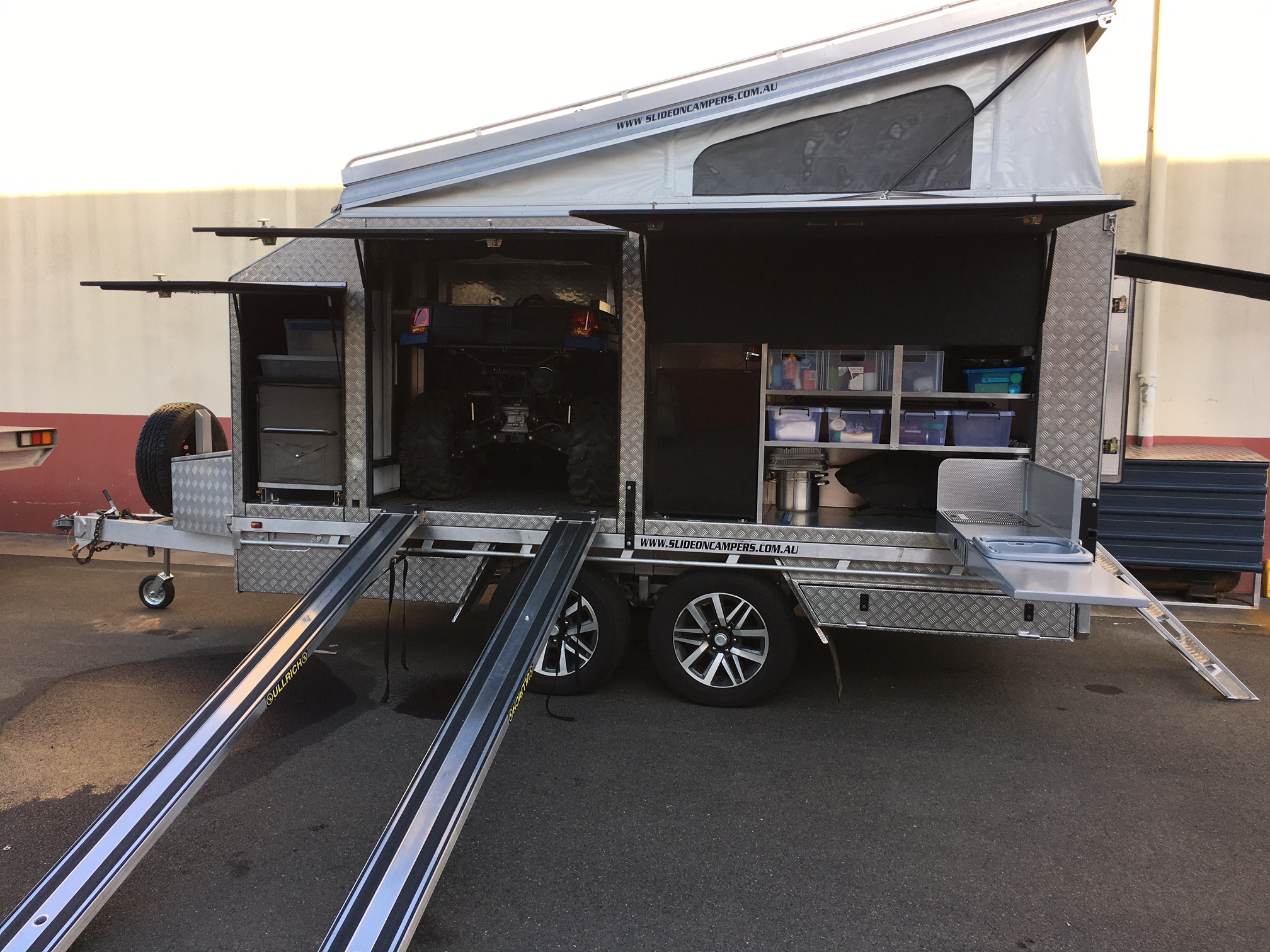 Dynamic Slideon Camper Toy Hauler 4
